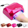 36W Diamond Manicure UV LED Lamp Nail Dryer Phototherapy Machine Led+Uv Lamp Manicure Tool With Induction Lamp Quick Drying Gel