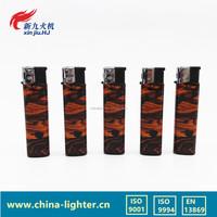 Wholesale OEM available butane lighter refill valve cheap lighter with sticker