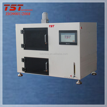 Textile fabrics colorfastness to atmospheric oxide/color fastness to burnt-gas fume tester