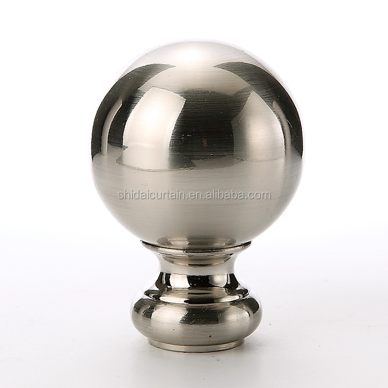 16H088 Home decoration window round ball curtain rod for sale
