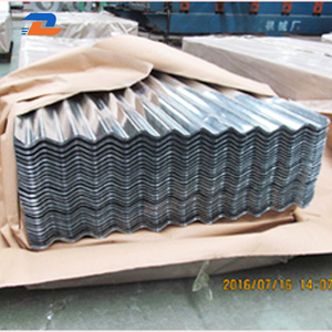 Lowest Price Corrugated Zinc Prepainted Metal Roofing Sheets / Aluminized steel sheet