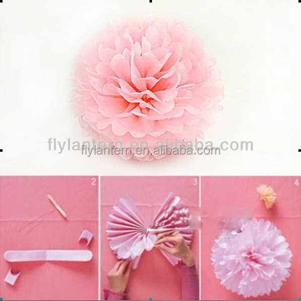 Tissue paper flowers balls image collections flower decoration ideas tissue paper flowers balls gallery flower decoration ideas christmas tree decorations 12tissue paper pom poms flower mightylinksfo