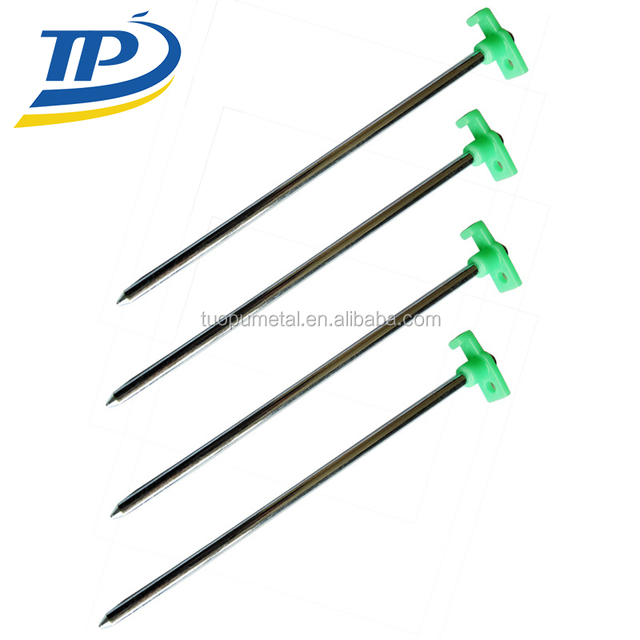 Green stopper galvanized non-rust tent peg stakes steel tent stakes hot sale  sc 1 st  Alibaba & bulk tent pegs-Source quality bulk tent pegs from Global bulk tent ...