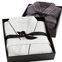 Wholesale cotton velour bathrobe custom velvet 5 star hotel bathrobe
