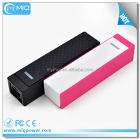 Mobile Power Portable Charger 2600mAh External Battery Pack Power Bank with Smart Connect Technology for iPhone,for iPad