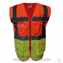 customized workwear summer dresses hi vis safety vest meets EN471
