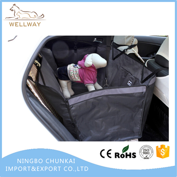 Dog Car Seat Covers With Non Slip And Removable Backside Easy Assembly Fold Up