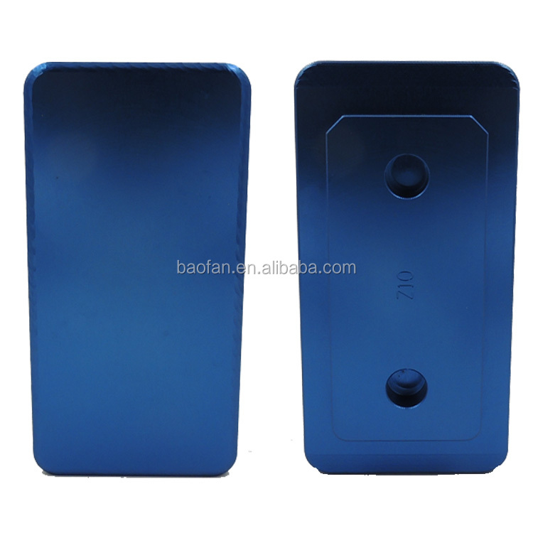 3D vacuun sublimation printing tools for BlackBerry Z10 blank phone case