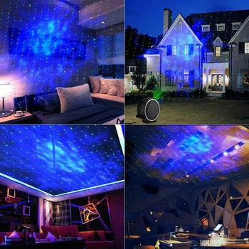 360 rotation romantic night sky stars christmas decoration led laser projector lights for party - Christmas Led Projector