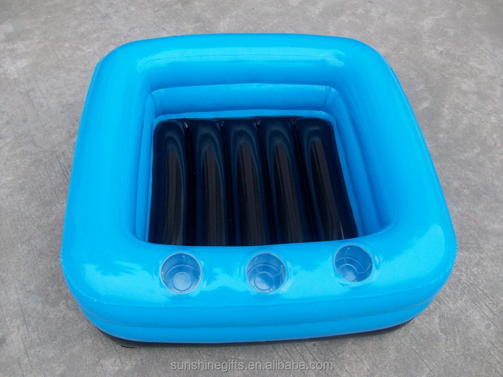 BSCI factory PVC inflatable ice chest for promotion