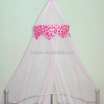 Lovely Leopard Print Mosquito Net Curtain For Kids Bed