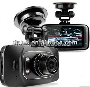 GS8000L CAR DVR Camera 2.7 Lcd Support 32GB 140 Degree 1920x1080p 4 White Light LED With G-Sensor Night Vision