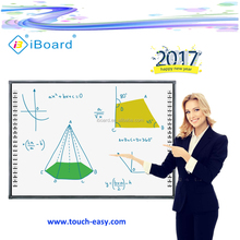 2017 iBoard vinger touch interactieve white board digitale whiteboard met mobiele stand