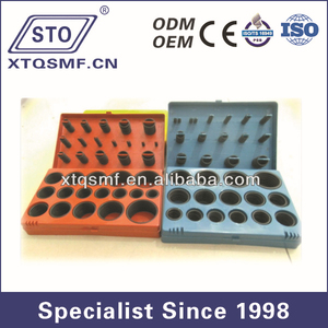 High quality 382 pcs NBR rubber o-ring seal storage box