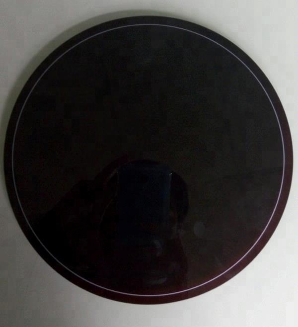 heat resistant 4mm black ceramic glass with silk printing for induction cooking and cooker oven