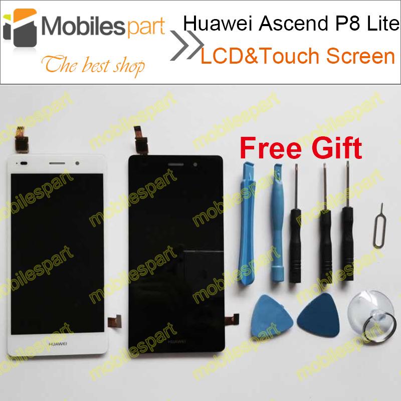 Huawei Ascend P8 облегченная жк-экрана панели Digilizer замена жк-экран для Huawei Ascend P8 Lite