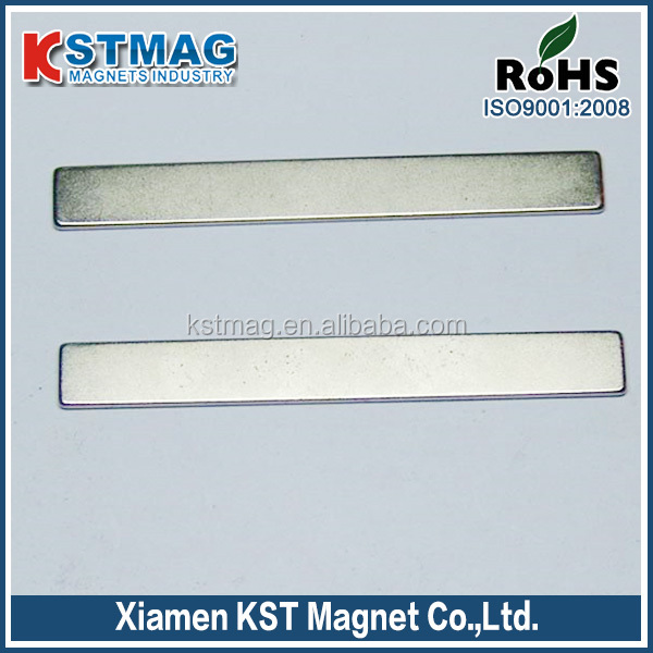 Permanent strip magnet motor rmagnet coating NI