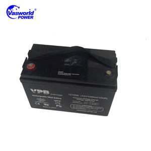 12V100AH gel lead acid maintenance free battery solar exide inverter battery