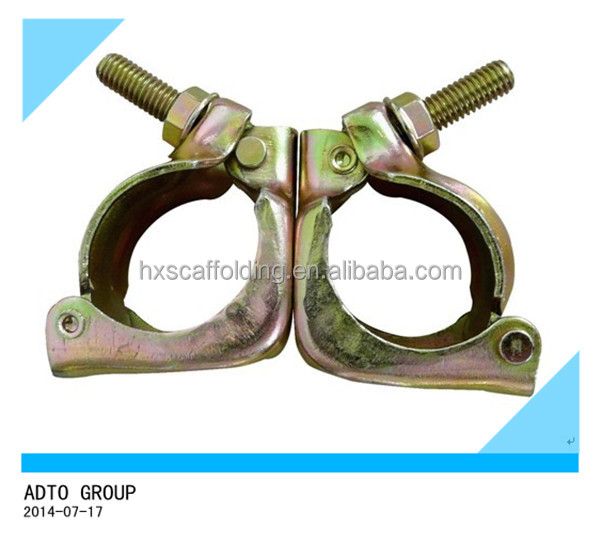 ADTO JIS standard pressed scaffolding swivel clamp
