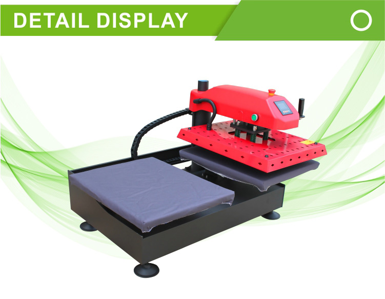 16x20 Dual Working Table Pneumatic Heat Press Machine FJXHB1-2