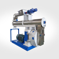 Pelletizer machine for animal poultry livestock goat horse cattle pig feeds pellet making machine price