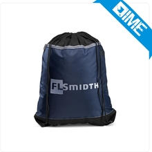 Design Your Own High Quality Drawstring Backpack Sport Bag