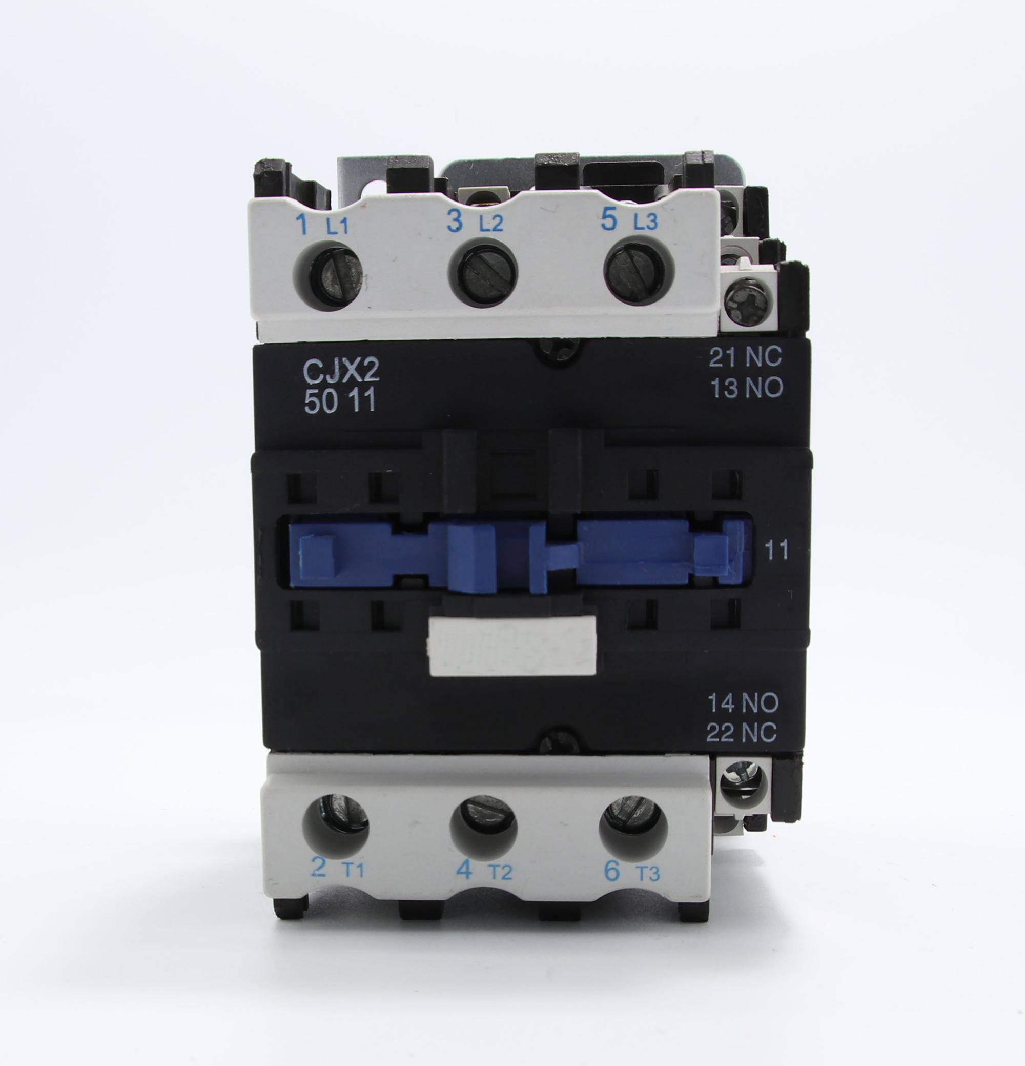 AC Magnetic Contactor CJX2 50 LC1D50 Contactor Price