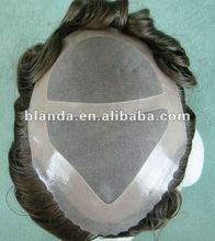 Fine Mono With1/2'' Clear PU Injection Toupee Pieces