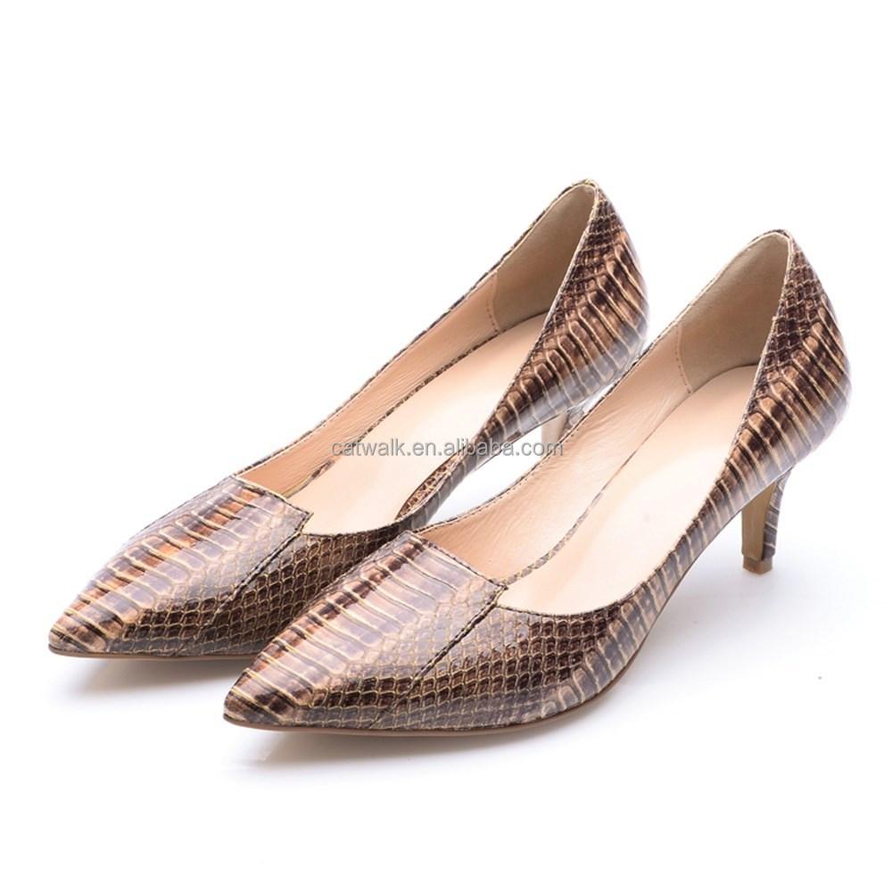 Genuine Crocodile Leather Women Shoes, Genuine Crocodile Leather ...