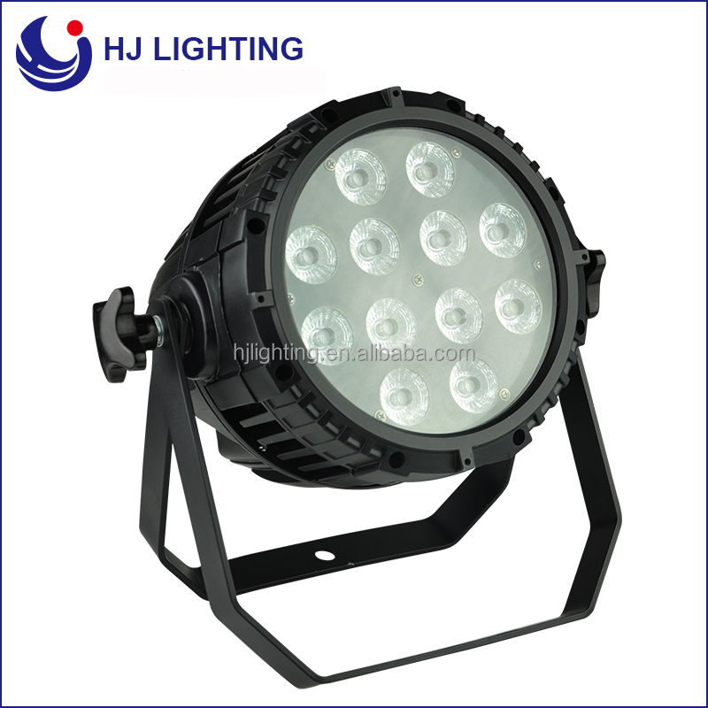 Cheap Price Brightness Outdoor DJ Lighting 12x15w RGBAW 5in1 IP65 Waterproof LED Par Can Light