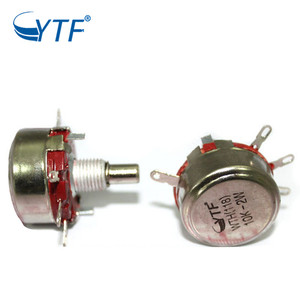 Single Turn Rotary WTH118 10k Carbon Film Potentiometer