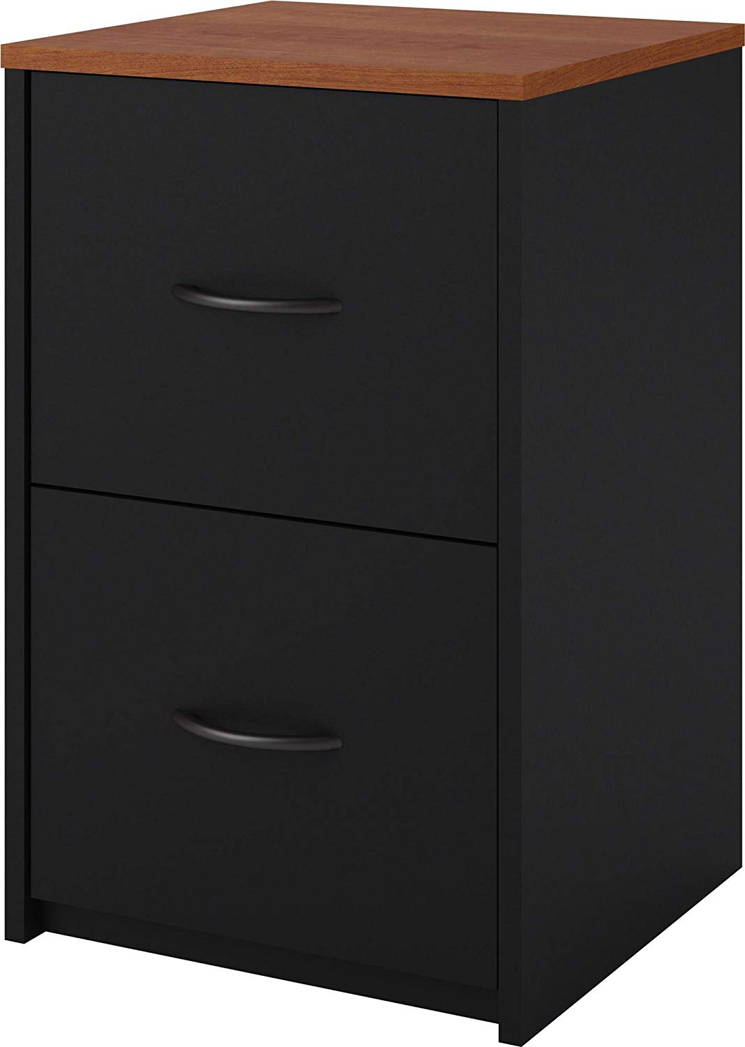 Ameriwood The Home Office 2-Drawer File Cabinet, Black