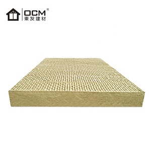 Fireproof Pipe Type Insulation Price Rock Wool Fiber Board For Floor  Covering