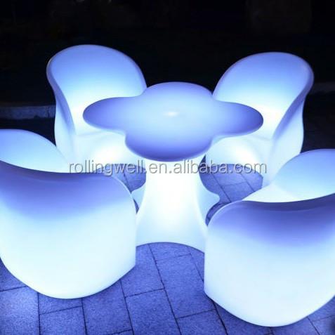 Led Lounge Furniture/night Club Lighting Illuminated Led Table ...
