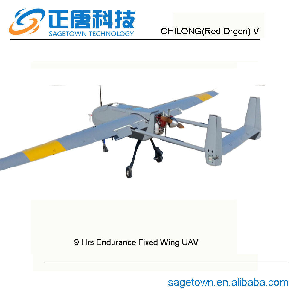 Chilongred Dragon V 9hrs Endurance Fixed Wing Uav Aircraft For Sale Professional Drones Long Range