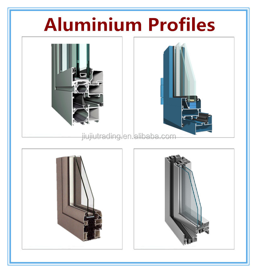 outstanding thermal break aluminum profile for window frame parts