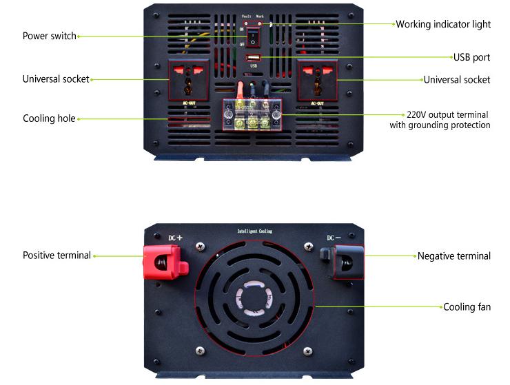 Hybrid 3000w Power Inverter Dc 12v Ac 220v Circuit Diagram