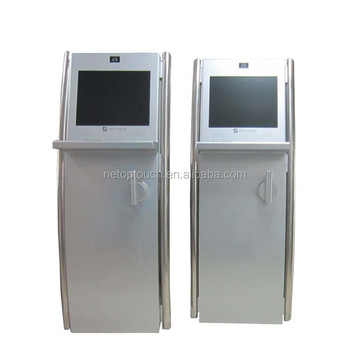 Hot Sale Attractive Vertical Keyboard Operated Kiosk