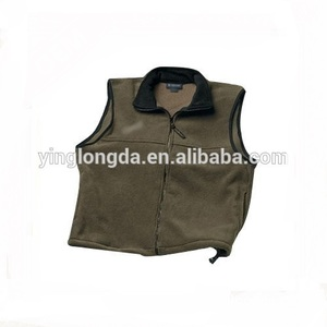 Top level crazy Selling 100% polyester custom logo vests