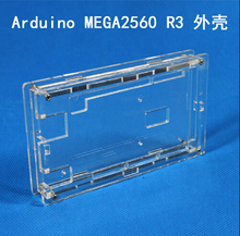 Best Price Enclosure Transparent Gloss Acrylic Box Clear Cover Compatible For Arduino Mega 2560 R3 Case UNO diy Free Shipping