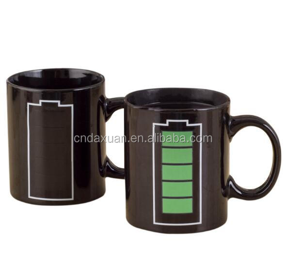 Home use Battery Color changing 201-300ml mini ceramic mug