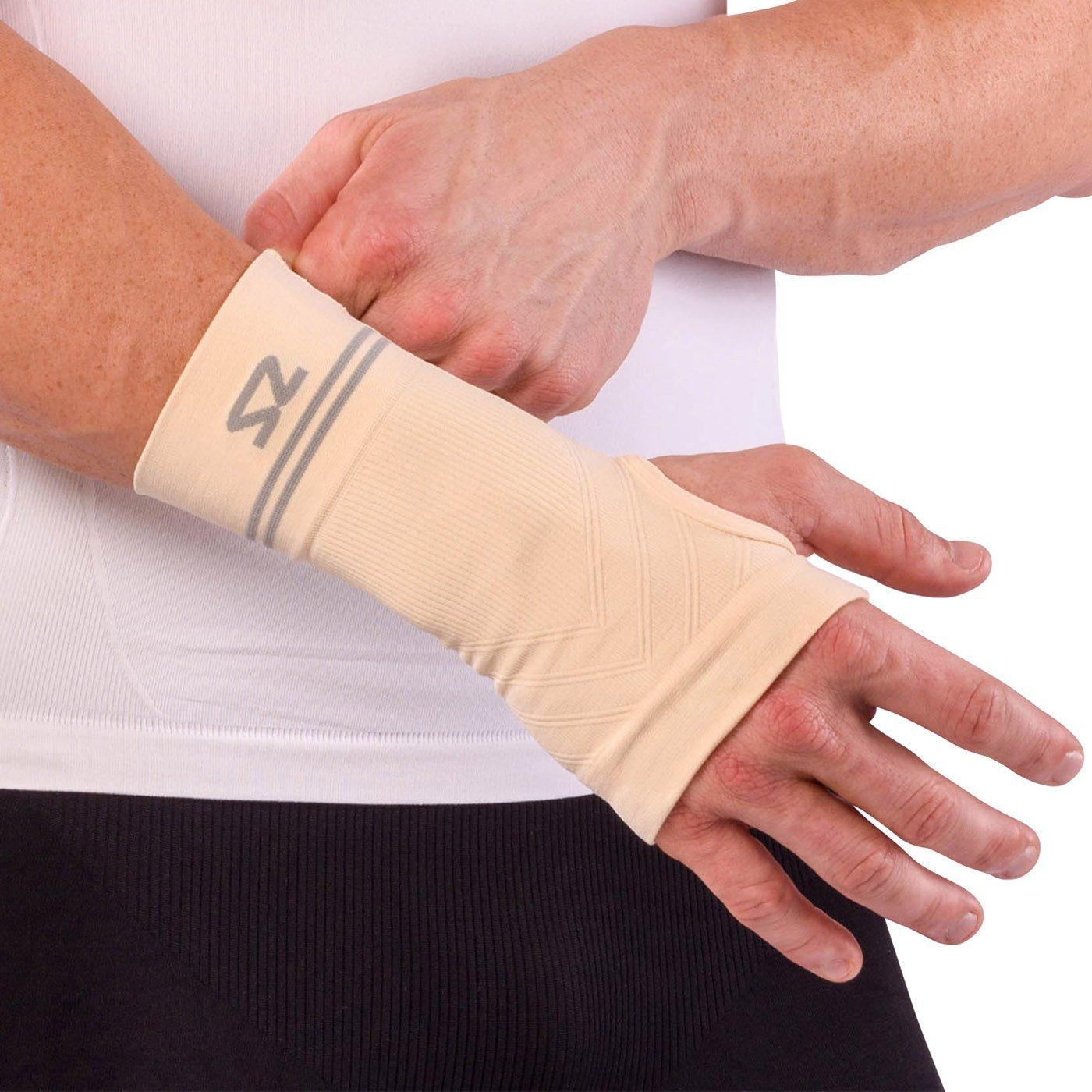 749fbcb330 Zensah Compression Wrist Support - Wrist Sleeve for Wrist Pain, Carpal  Tunnel - Wrist Support - Wrist Brace