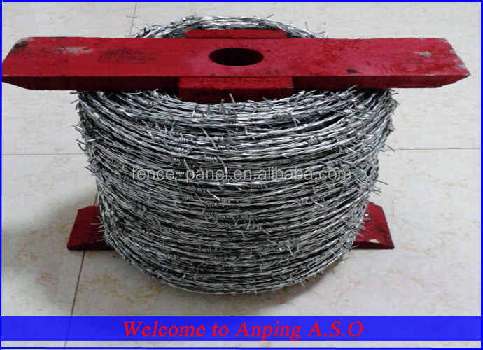 High Quality Cheap Barbed Wire/ Barbed Wire Making Machine China ...