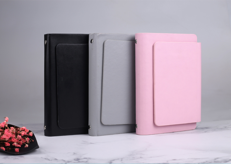 2019 Fashion Creative Portable Notes The Most Popular Leather Note Pad with Calculator