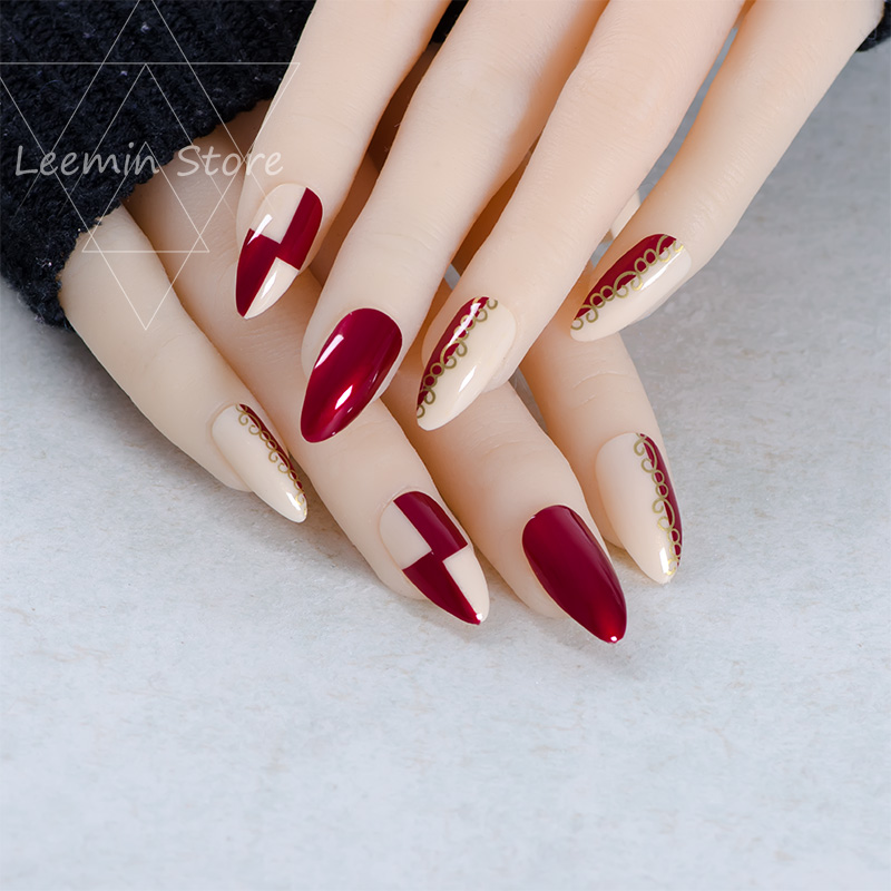 If ever my nails are long enough this is the French.