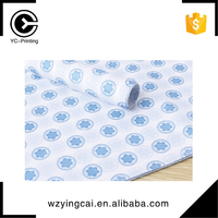 Nice custom brand logo nice packing clothes tissue wrapping paper