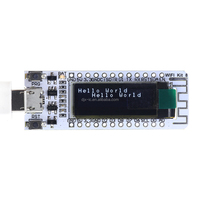 ESP8266 WIFI Chip 0.91 Inch OLED CP2014 32Mb Flash Module Internet of things Board PCB for NodeMcu