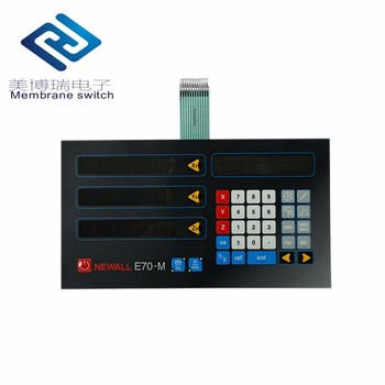 China Manufacturer OEM/ODM Capacitive Touch Screen Push Button Membraen Switch Keyboard