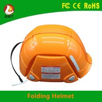 New Universal Size Safety Hard Hat for disaster prevention folding helmet from China