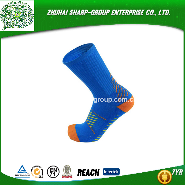 Low price free shipping 100% Polyester Customized custom made american football socks